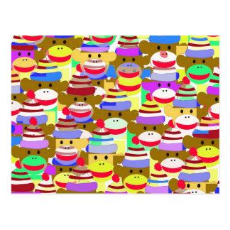 Monkey Wallpaper. Postcard