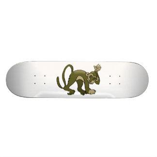 Monkey Waves At You Skate Board Decks