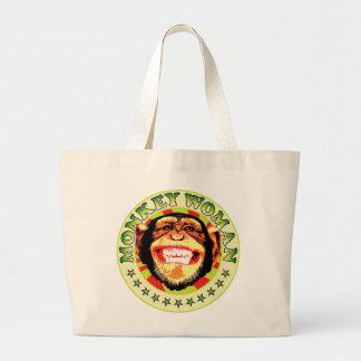 Monkey Woman Canvas Bag