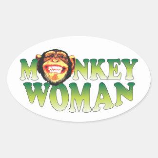 Monkey Woman. Sticker