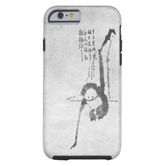 Monkey zen painting meditation phone tough iPhone 6 case