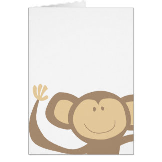 Monkeying Around Greeting Cards