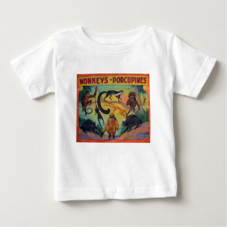 Monkeys and Porcupines Baby T-Shirt