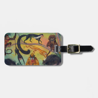 Monkeys and Porcupines Luggage Tag