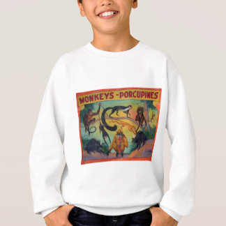 Monkeys and Porcupines Sweatshirt