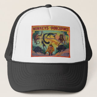 Monkeys and Porcupines Trucker Hat