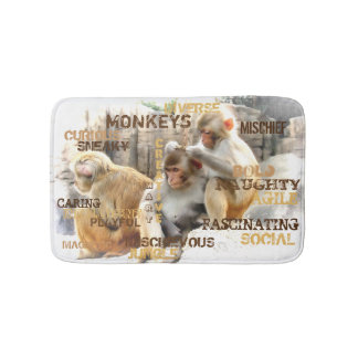 Monkeys Bath Mat