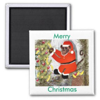 Monkeys Christmas Magnet by dovigirl2008*