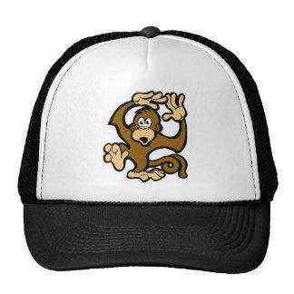 Monkeys Go Swimming Trucker Hat