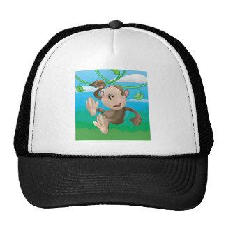 monkeys hats