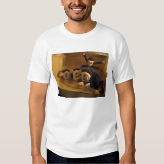 Monkeys in the Microwave T-shirts