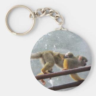 Monkeys Key Ring