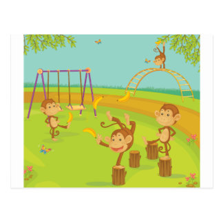Monkeys Post Cards