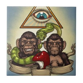 Monkeys Tile