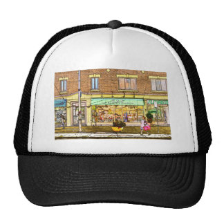 Monkland  Street Mesh Hat