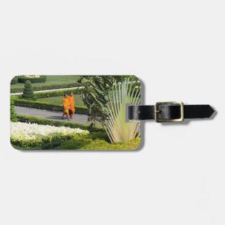 monks luggage tags