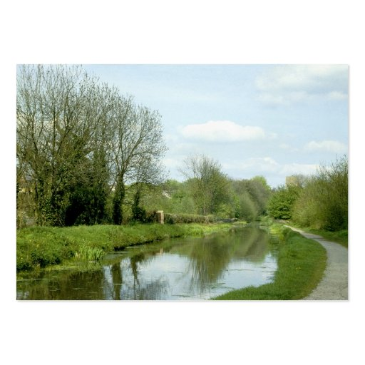 Monmouthshire and Brecon Canal (1980s) Business Card