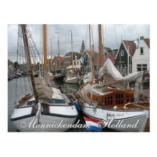 Monnickendam Holland Postcard