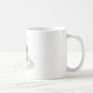 Monnogram Wedding Bells Basic White Mug