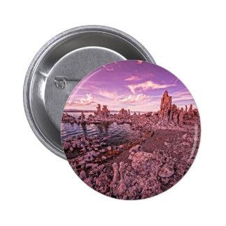 mono lake sunset pinback buttons