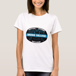 Mono Village 'Survivor' Blue T-Shirt