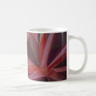 Monochromatic cubism coffee mug