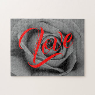 Monochromatic Rose Love Puzzle