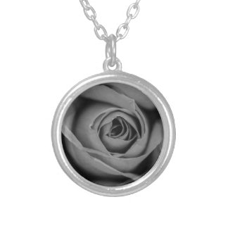 Monochromatic Rose Necklace