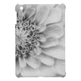 Monochromatic Zinnia iPad Mini Cases