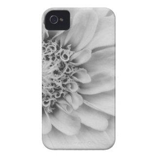 Monochromatic Zinnia iPhone 4 Case