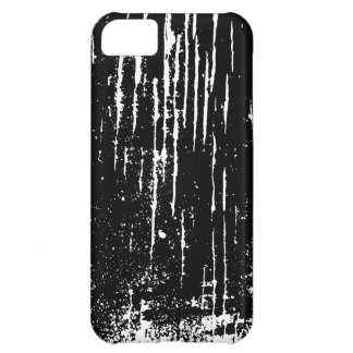 Monochrome Abstract Case For iPhone 5C
