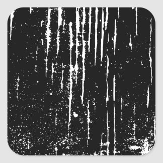 Monochrome Abstract. Square Stickers