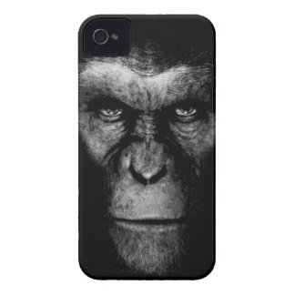 Monochrome Ape Face iPhone 4 Covers