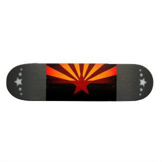 Monochrome Arizona Flag Skateboard