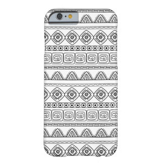 monochrome aztec pattern barely there iPhone 6 case