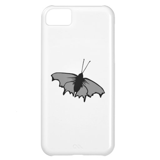 Monochrome Butterfly. iPhone 5C Covers