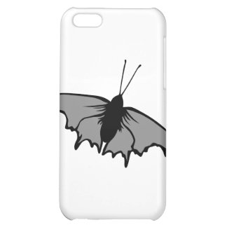 Monochrome Butterfly iPhone 5C Case