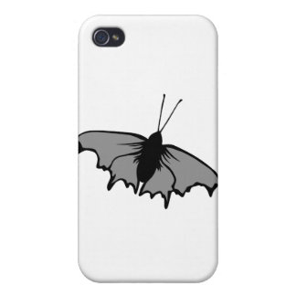 Monochrome Butterfly. iPhone 4/4S Covers