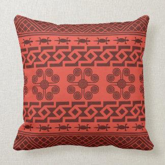 Monochrome Cherry Tomato Red  - Throw Pillow