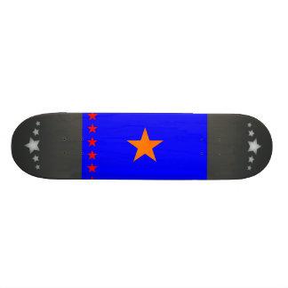 Monochrome Congo Flag Skate Board Deck