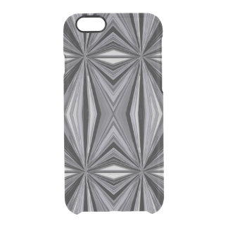 Monochrome Diamond Design Clear iPhone 6/6S Case