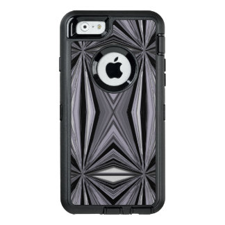 Monochrome Diamond Design OtterBox Defender iPhone Case