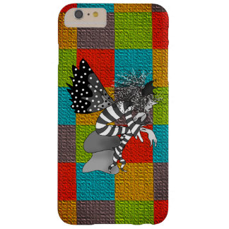 Monochrome Elf On Hot Bright Colorful Background Barely There iPhone 6 Plus Case
