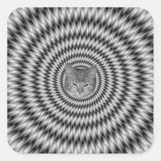 Monochrome Engineering Cat Sticker