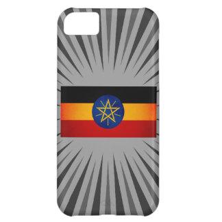 Monochrome Ethiopia Flag iPhone 5C Case