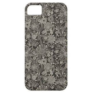 Monochrome Floral iPhone 5 Case