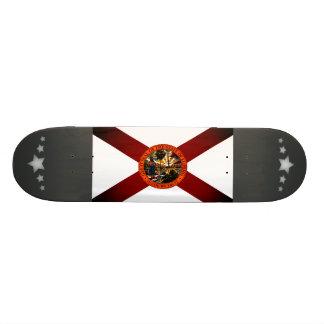Monochrome Florida Flag Skate Board