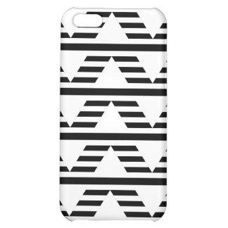 Monochrome Geometric Design. Pattern. iPhone 5C Case