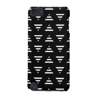 Monochrome Geometric Pattern. Stripe Triangles. iPod Touch 5G Cases