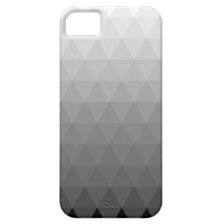 Monochrome Gradient Triangle Pattern Case For The iPhone 5
